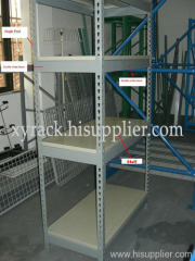 light duty angle steel shelving