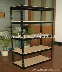 slotted angle display rack