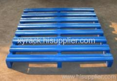 Metallic steel tray