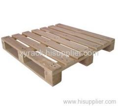 4 way single-deck wood pallet