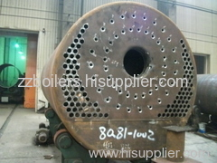 WNS series oill-fired steam boiler drum