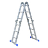 CE Certification 1.2mm thickness Aluminum Multi Purpose ladder with small but strong joint
