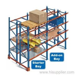 warehouse pallet and shelving storage rack