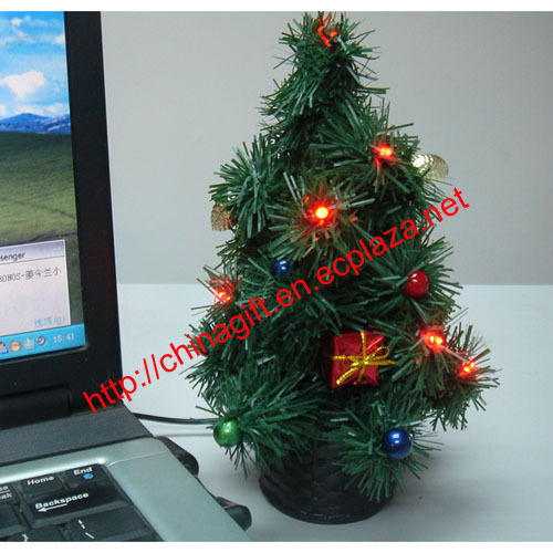 USB Led flashing christmas tree