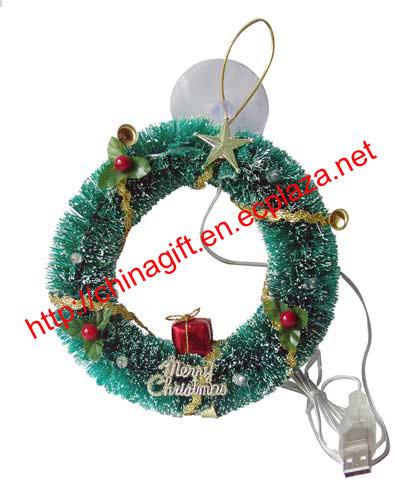 Usb christmas wreath