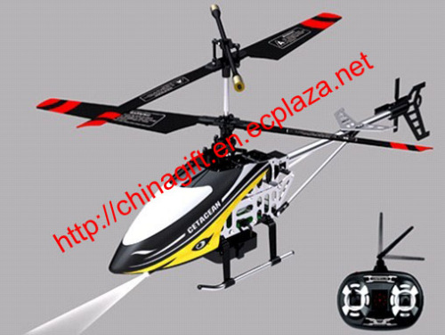 4 Channel Video Camera Shooting R/C Helicopter With Gyro