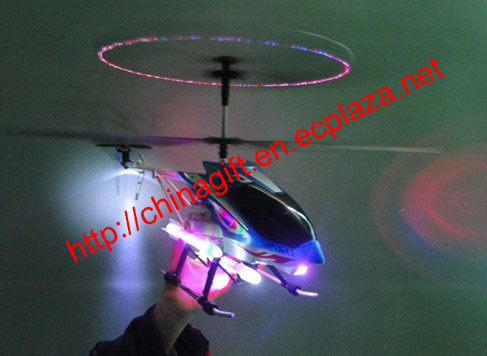 3 Channel R/C Sky lanneret Helicopter with Gyro & Music