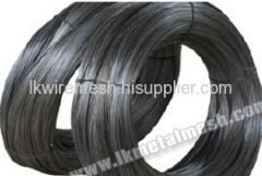Black drawn wires