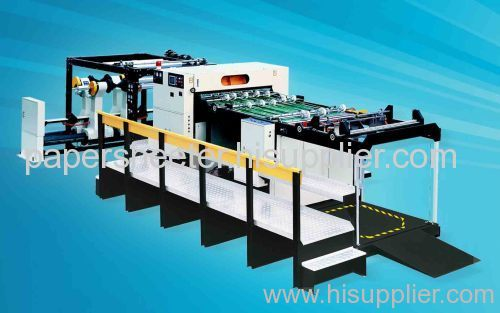 Paper and paperboard converting machine