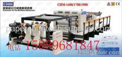 Paper and paperboard cutting machine and sheeting machine