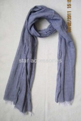 cotton woven scarf
