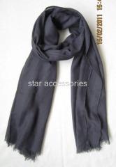 viscose plain woven scarf
