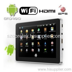 Google Android 2.1 Tablet PCs, Support TV-out + WiFi + G-sensor - 8GB