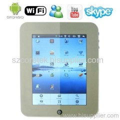 Fashionable Tablet Laptop Built-in 3G + WiFi + Google Maps + Youtube Web Video