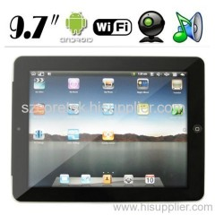 9.7 inch New Widescreen Tablet PC - Google Android OS 2.1 + DDR2 RAM + WiFi