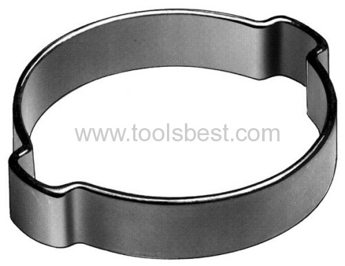 Ear hose clamps from china manufacturer d q metal