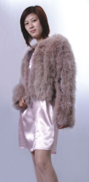 turkey feather coats