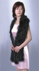 women's fashion feather shawl