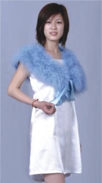 Wedding Feather shawl