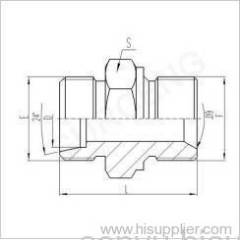 METRIC MALE 60° SEAT SEALs OR BONDED SEAL STUD ENDS