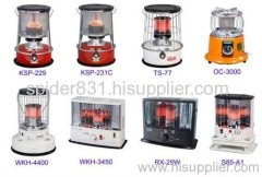 Kerosene heater and gas heater