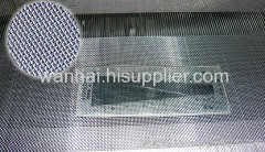 woven stainless steel window screen