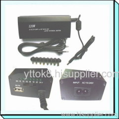 120W Laptop Adapter with USB for Home Use