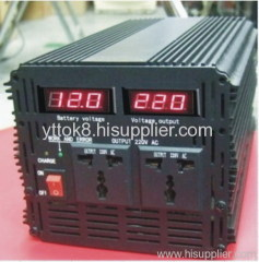 3000W Car Power Inverter with Charger & UPS