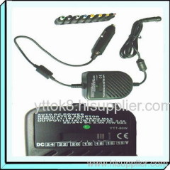 80W Universal DC Power Adapter for Car Use