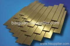 Copper alloy board