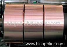 Transformer copper belt