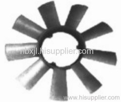 Fan wheel engine coolings