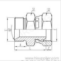 BSP MALE 60°SEAT OR BONDED SEAL