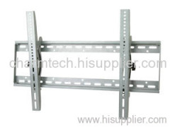 Silver Steel Tilting LCD TV Wall Mount