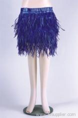 Ladies' Turkey feather Skirt