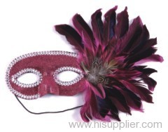 cocktail Feahter mask