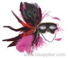 Fancy feather masks