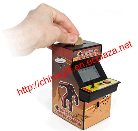 Arcade Machine Money Box