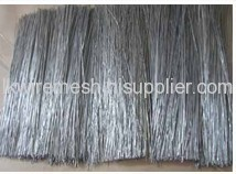 galvanized Straight and Cut Wire