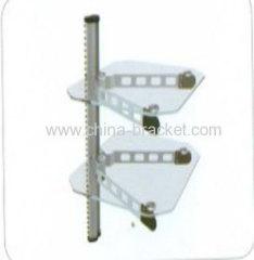 Aluminium Silver DVD Rack