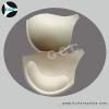 Yellow Cotton bra cup