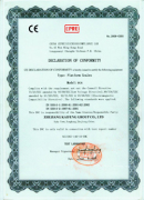 CE Certificate for Platform Scales