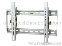 Silver Steel Tilting LCD TV Wall Bracket
