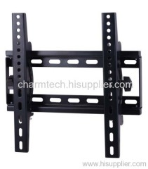 Black Steel Tilting LCD TV Mount