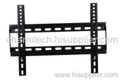 Black Steel Universal Fixed LCD TV Brackets