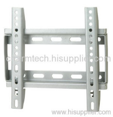 Silver Universal Fixed LCD TV Mount