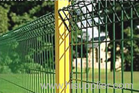 Double Loop Decorative welded Fence