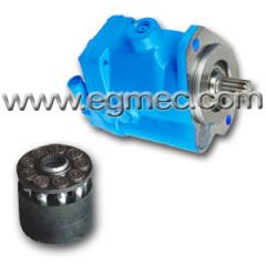 Terex 3307 truck pump