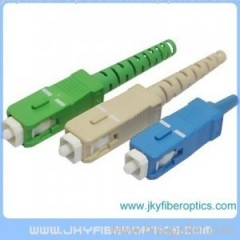 SC/APC Fiber Optic Connector