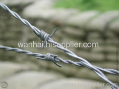 high tensile galvanized barbed wires